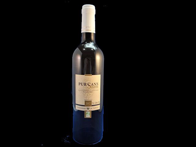 Pur Sans Sulfites blanc - witte wijn zonder toegevoegd sulfiet.