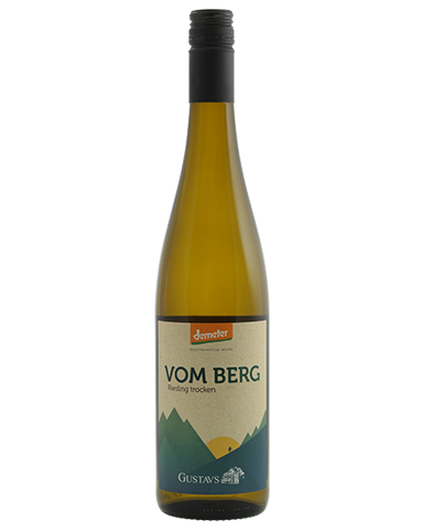 Gustavshof Vom Berg Riesling - Demeter witte wijn uit Duitsland