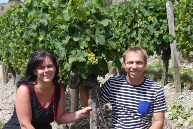 George Raspail - Clairette en Cremant de Die bij Vinopura