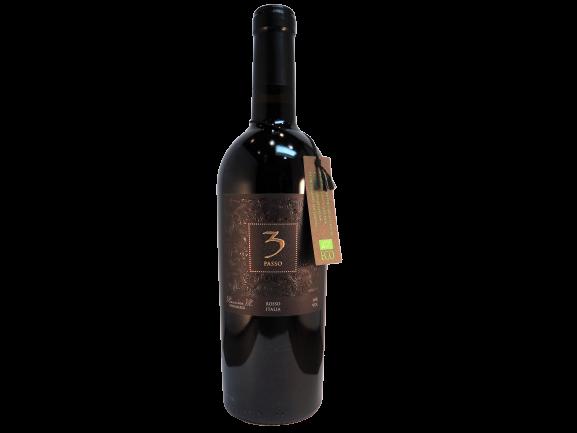3 Passo Rosso - biologische rode wijn uit Puglia - Vinopura