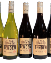 Tendem wijn 5 soorten