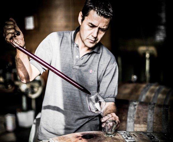 Bruno Andreu wijnen bij Vinopura