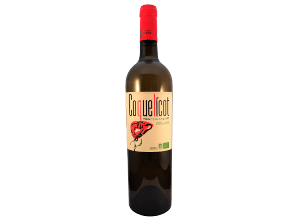 Bruno Andreu Coquelicot viognier - biologische wijn uit Pays d'Oc bij Vinopura