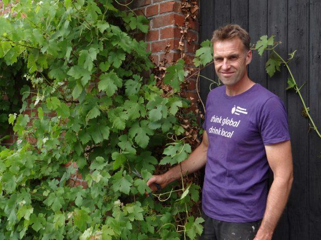 Ron Langeveld - wijnmaker Wijngaard Dassemus Chaam