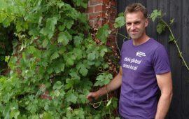Wijnmaker Ron Langeveld van Wijngaard Dassemus