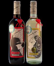 biologische wijn voor helden Superman en Wonderwoman bij Vinopura