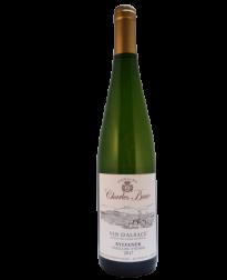 biologische Sylvaner witte Alsace wijn ban Charles Baur bij Vinopura