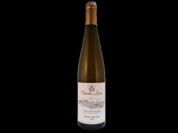 biologische Pinot Blanc - Witte Alsace wijn van Charles Baur bij Vinopura