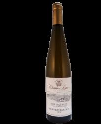 biologische Gewurztraminer witte Elzas wijn van Charles Baur bij VinoPura
