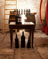 kelder van Antica Enotria biologische wijnen bij VinoPura