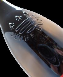 Zegel op fles van Duché d'Uzes