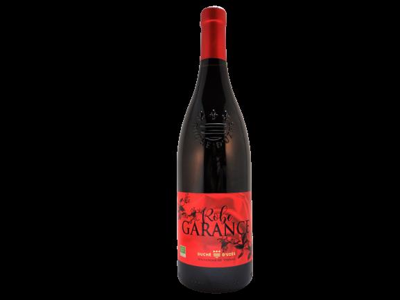 Robe Garance biologische rode wijn Duché d'Uzes